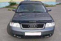Дефлектор на капот (мухобойки) Audi A6 (4В,С5) 1997-2004