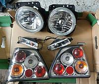 ТЮНИНГ Комплект Фары передние, фонари задние, поворотники в бампер VW Golf 2 / Фольксваген Гольф 2, фото 1
