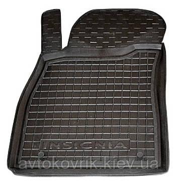 Полиуретановый водительский коврик в салон Opel Insignia 2008- (AVTO-GUMM)