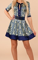 Платье женское, р.44,46,48,50,52. Атлас.