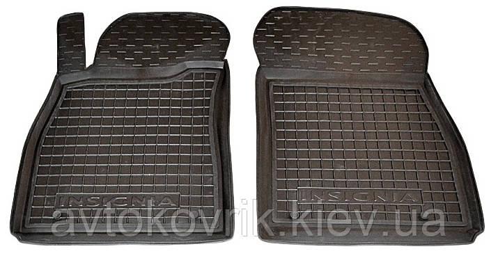 Полиуретановые передние коврики в салон Opel Insignia 2008- (AVTO-GUMM)