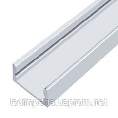Профиль алюминиевый Biom LED DX7 7х16 анодированный (палка 2м), м