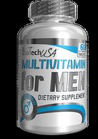 "Мультивитамины для мужчин ""Multivitamin for Men""-максимально эффективная формула для мужчин (60табл, Biotech)"