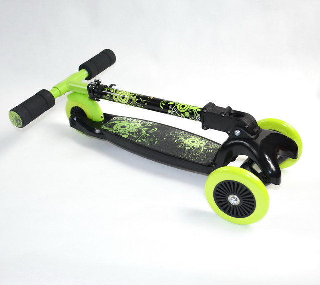 стальная рама детского самоката 4kids scooter от 3-х лет