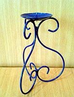 Подсвечник металлический 3S синий