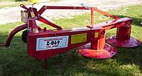 Косилка роторная навесная Wirax Z-069 шириной 1,65 м.(Польша)