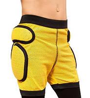 Защитные шорты детские Sport Gear (MD) 5XS, Желтый