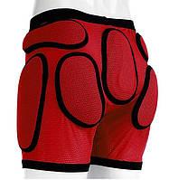 Защитные шорты детские Sport Gear (MD) 5XS, Красный