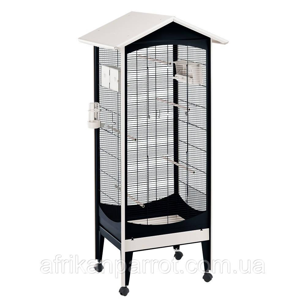 Ferplast (BRIO MINI)Вольер для канареек и маленьких птиц 60,5x73,5x160 cm