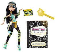 Monster High Клео Де Нил школьный выпускной Cleo De Nile  schools out
