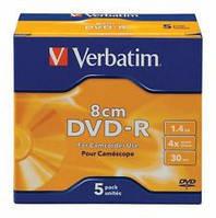 MiniDVD-R 30 Verbatim 1.44 Gb 8 cm