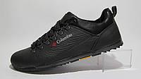 Туфли мужские  COLUMBIA кожаные, черные (коламбия)(р.46)