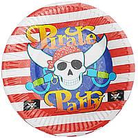 Тарелки бумажные Пираты-1 10шт.
