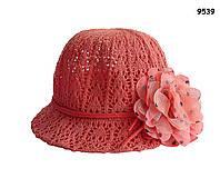 Шляпа с цветком для девочки. 52 см, фото 1