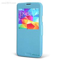Чехол Nillkin Fresh Series Leather Case для Samsung Galaxy S5 (G900) light blue