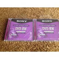 MiniDVD-RW 60 Sony 2.6 Gb 8 cm