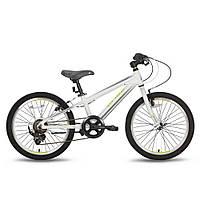 Велосипед 20'' PRIDE JOHNNY бело-зеленый матовый 2016