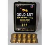 ЗОЛОТОЙ МУРАВЕЙ GOLD ANT таблетки для потенции