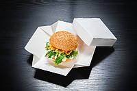 Упаковка для бургера с брендирование