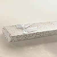 [21/4,5/2 см] Подарочная коробочка для цепочки, браслета I LOVE YOU! длинная  12 шт.