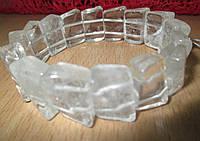 Интересный браслет из горного хрусталя от Студии  www.LadyStyle.Biz