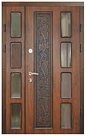 Двери входные полуторные Модель 7