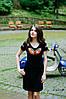 Плаття Маковий цвіт – короткий рукав