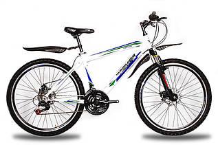 """Велосипед Premier Captain Disc 19"""" белый с голубым-красным-черным (TI-14286)"""