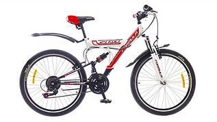 """Велосипед Formula Kolt AM2 14G St, 24"""" бело-черно-красный 2015"""