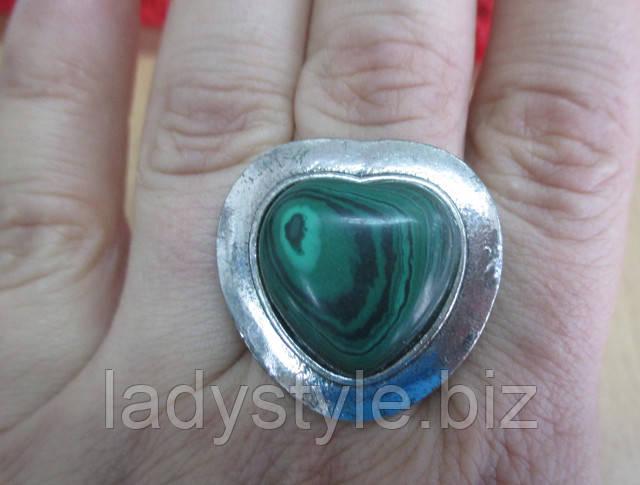 малахит натуральный купить кольцо серьги
