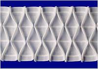 """Драпировочная лента (шторная тесьма) шир. 10 см, х/б """"буфы"""", фото 1"""