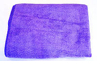 Полотенце из микрофибры 35*75 см, 300 г/м2, фиолетовый, фото 1