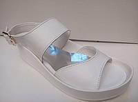 Босоножки-мыльницы (цвет белый)