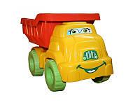 """Игрушка грузовичок """"Смайлик"""" №3 013575 Фламинго-Тойс, оранжево-желтый"""