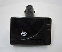 MP3 FM модулятор NY-24: порты microSD и USB, LCD дисплей, пульт ДУ, 87,5-108 Мгц, черный
