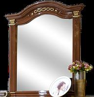 Зеркало Диана  1090х1000х50мм орех лак   Світ Меблів