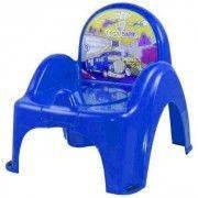 Детский горшок-кресло Веселка Cars CS-007 синий Tega  60721
