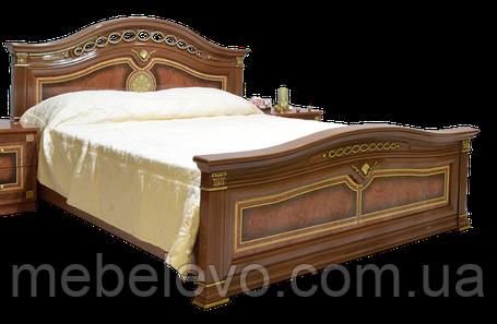 Кровать Диана 160 2сп 1130х1800х2150мм орех лак Світ Меблів, фото 2