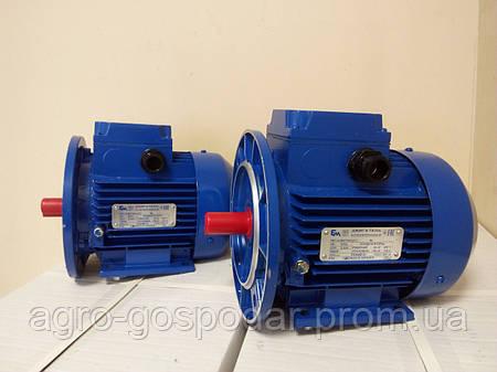 Электродвигатель однофазный АИРМУТ63А20,37 кВт 3000 об/мин