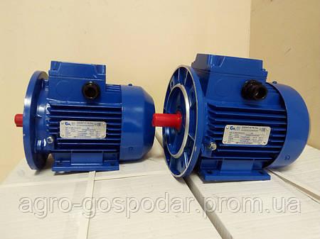 Электродвигатель однофазный АИРМУТ63В2 0,55 кВт 3000 об/мин