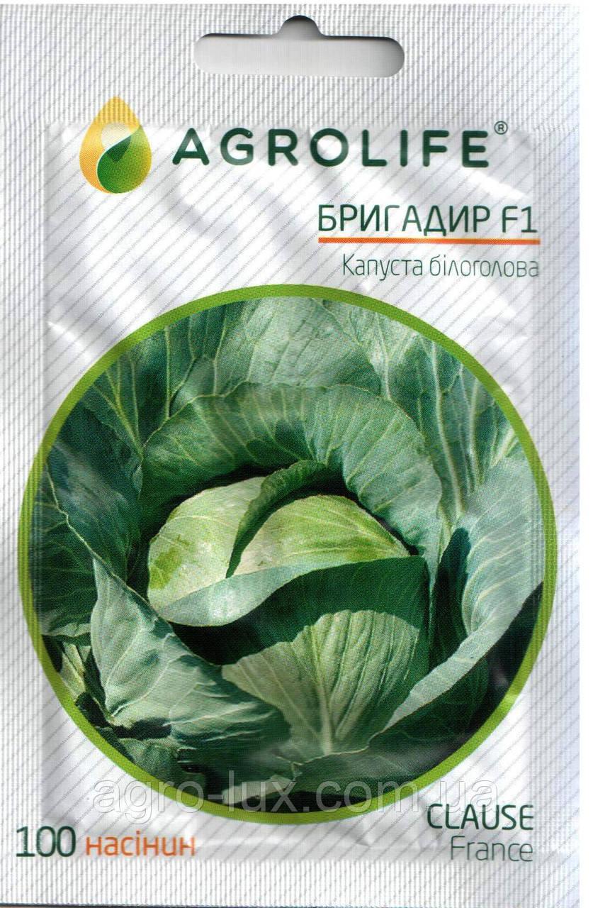 Семена капусты Бригадир F1 100 сем.