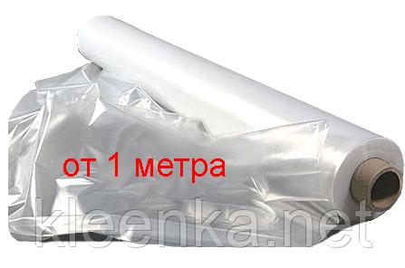 Пленка полиэтиленовая прозрачная для тепло- и гидроизоляции на метраж 120 мкм толщина, 3 м ширина, фото 2