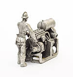 Скульптура мініатюра, верстатник, олово, Germany, фото 2