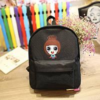 Молодежный рюкзак с девочкой, фото 1