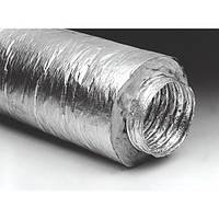 Гибкий воздуховод изолированный, 125 мм