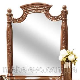 Зеркало Жасмин  1060х940х90мм орех лак   Світ Меблів