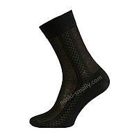 Мужские классические носки  сеточкой, фото 1