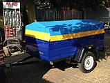 Прицеп для легкового автомобиля ПГМФ-8302 (экспорт) БТ-47, фото 2