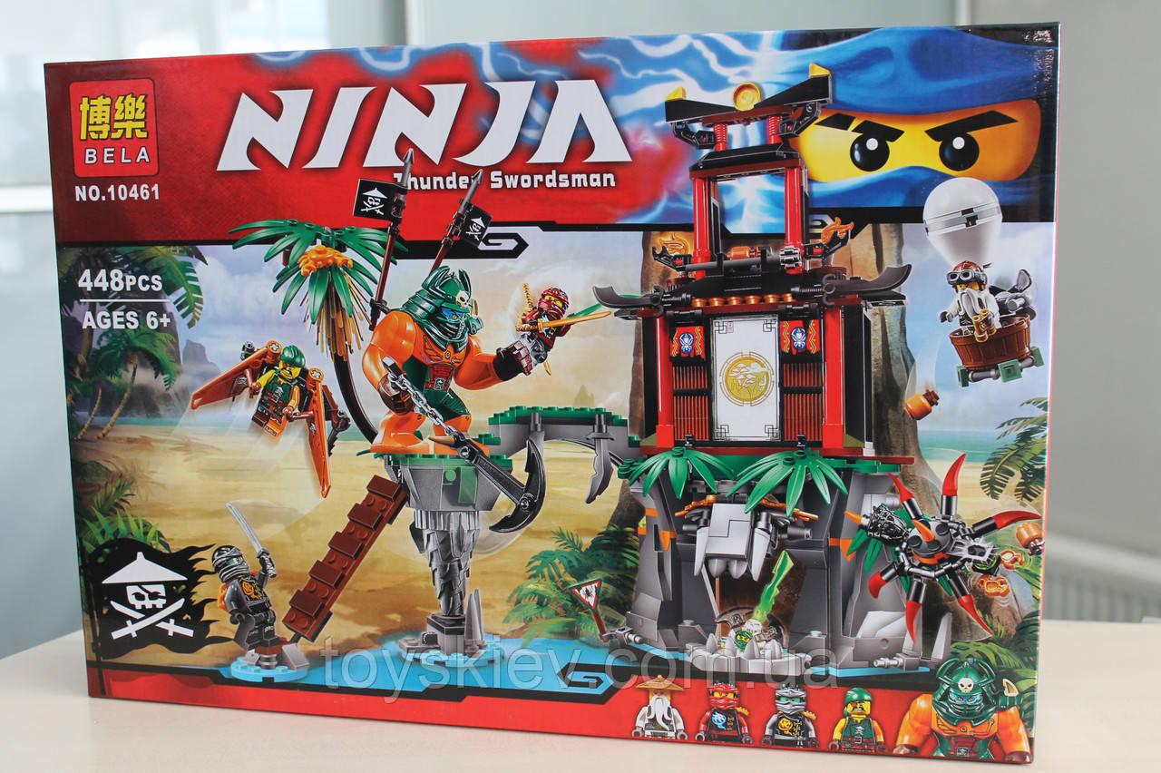 Конструктор Ниндзяго NINJAGO 10461 Остров тигриных вдов.
