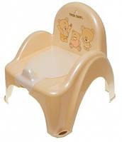 Детский горшок-кресло Веселка TEDDY BEAR MS-012 капучино Tega  60258